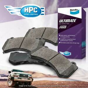 4x Bendix Rear Ultimate Brake Pads for Toyota 86 ZN6 2.0 147 kW with 286 disc