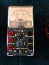 Vintage Superior Instruments 1954 Utility Tester Model 70 & Manual