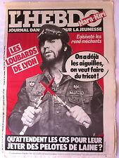 "Hara Kiri N°9 du 23/09/1981; ""journal dangereux pour la jeunesse"""