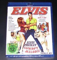 Cowboy Melodia Con Elvis Presly blu ray Spedizione più Veloce Nuovo & Originale