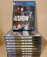 MLB THE SHOW 20 Baseball 2020 - PS4, Playstation 4 - Brand New / Factory Sealed