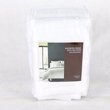 New Hudson Park Gabrielle Quilted Euro Pillow Sham White $120 Y1676