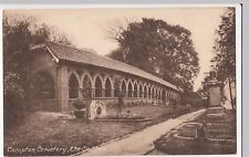 Surrey, Compton Cemetery, The Cloisters PPC Unposted Early Card by Frith