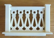 Vintage Lundby Stockholm Dolls House Left Side Balcony Part
