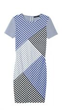 Tibi Striped Shift Dress Size 4
