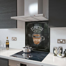 Perspex Acrylic Splashback 15cm x 15cm Sample Of Espresso Coffee