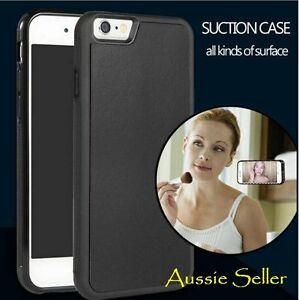 Anti Gravity stick Suction Back case cover for iphone 6/ 6 plus( Aussie Seller)