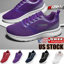 Women's Fashion Plus Size Sports Running Shoes Casual Outdoor Athletic Sneakers