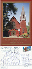 1993 THE CHURCH OF THE ONE TREE SANTA ROSA CA UNITED STATES COLOUR POSTCARD