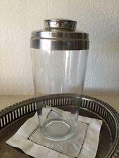 Vintage Mr Bartender 1950s Boston Style Glass Cocktail Shaker / Mid Century