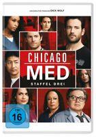 YAYA DACOSTA,TORREY DEVITTO NICK GEHLFUSS - CHICAGO MED-STAFFEL 3  6 DVD NEU