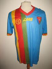 Eritrea away rare CAF Africa football shirt soccer jersey maillot trikot size M