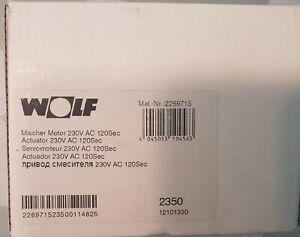 Wolf Mischer Motor für 3-Wegemischer und 4-Wegemischer 2269715 NEU/OVP
