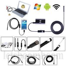 2/5/7/10m USB Wifi Endoskop Inspektion Kamera Wasserdicht für Android PC iPhone