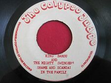 RARE REGGAE 45 - KING BAROU & THE MIGHTY SWINGERS - THE CALYPSO JUDGE
