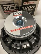 New in Box, Old School MTX Thunder 8000 12-inch Subwoofer T8128