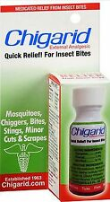 CHIGARID LIQUID 0.5oz insect bites chigger bug relief pain and itching