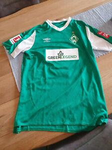 Werder Bremen Trikot Matchworn Toprak mit Autogramm Gr L