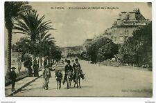 CPA - Carte postale -France -Nice - Promenade et Hôtel des Anglais - 1910