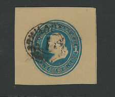 Bigjake: W77, 1 cent Franklin Manilla Wrapper