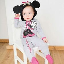 DISNEY Baby Minnie Mouse PAGLIACCETTO Jersey 0-3 LAV-Toddler bambini Costume Outfit