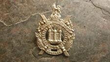 OLD BRITISH MILITARY BADGE, 1900s KINGS OWN SCOTTISH BORDERERS TYPE 1 BADGE
