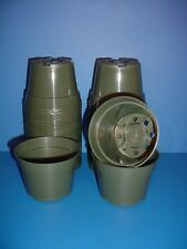 "50 New Round 4""inch Plastic Azalea Flower & Nursery Pots"