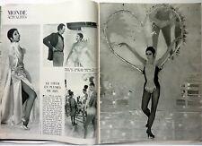 ZIZI JEANMAIRE => Coupure de presse 2 pages 1967