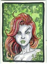 Poison Ivy Card Art - 2007 Signed art by Scott James