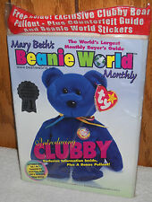 #7664 Mary Beth's Beanie World Monthly September 1998 Magazine