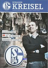 Schalker Kreisel + 01.02.2014 + FC Schalke 04 vs. VfL Wolfsburg + Programm +