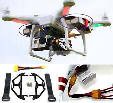 Dji Phantom Quadcopter Extended Dual Battery Glass Fiber Mount Xt60 Wiring Cable