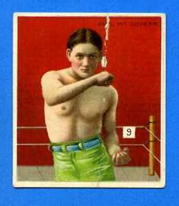 1910 T218 Mecca Prizefighters Card PHIL McGOVERN