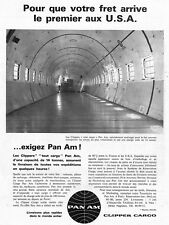 """ PAN AM AIR LINES "" PUBLICITE ADVERTISING 1962"