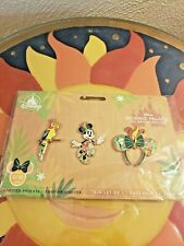 Disney Minnie Mouse The Main Attraction Enchanted Tiki Room Pin Set May Edition