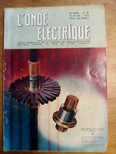 L'onde électrique N°371 - FEVRIER 1958