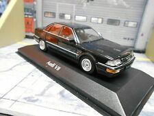 AUDI V8 Quattro Limousine 1988 black schwarz D11 / 4C Minichamps Maxichamps 1:43