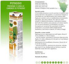 CIFO POTASSIO ML. 250 CONCIME LIQUIDO - INTEGRATORE - PIANTE FIORI GIARDINO