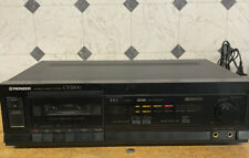 Pioneer Ct-S200 Stereo Single Cassette Tape Deck Player Recorder Working!