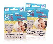 Breast Milk Storage Bag Pack of 240 BPA Free Sterilised for Breastfeeding Gabag