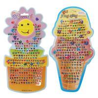 Kid Girl Bag Party Crystal Stick Earring Body Jewelry Sticker New Toy Z4F6