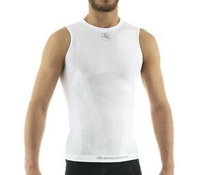 Giordana Cycling Base Layer Lightweight Sleeveless Tubular |Mens-White|BRAND NEW