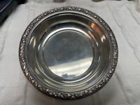 Vintage Wallace Sterling Silver Bowl Fruit Pattern 84 Grams DS30