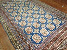 Antique Decorative East Turkestan Khotan Rug Size 6'11''x12'10''
