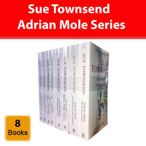 Sue Townsend Adrian Mole series 8 books collection set Humour pack NEW