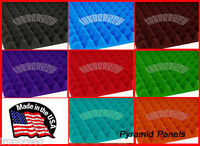 """(48 Pack) Pyramid Acoustic Soundproofing Studio Wall Foam Panels 12"""" x 12"""" x 2"""""""