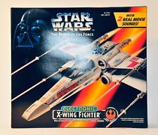 Star Wars 1995 X-WING FIGHTER Electronic Vehicle POTF2 MISB! Sealed! NEW! Kenner