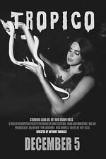 "LANA DEL REY ""TROPICO"" MOVIE POSTER - Lana Holding White Snake, Reproduction"