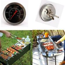 Pit Smoker Grill Thermometer Temp Gauge BBQ Camping Outdoor Stainless Tools B