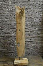 Teak Holz Wurzel Skulptur Holzkunst Treibholz Statue Deko Holzobjekt Ho.1814
